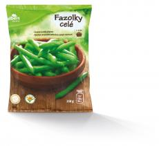 Basic fazolové lusky celé ( hluboce zmrazené) 350g