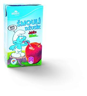 Šmoula džusík jablko, Albert quality, 250 ml