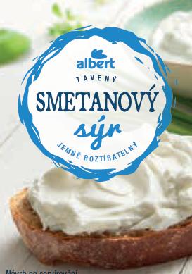 Smetanový sýr 150 g, Albert