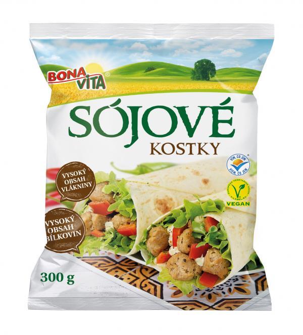 Sojové kostky 300 g