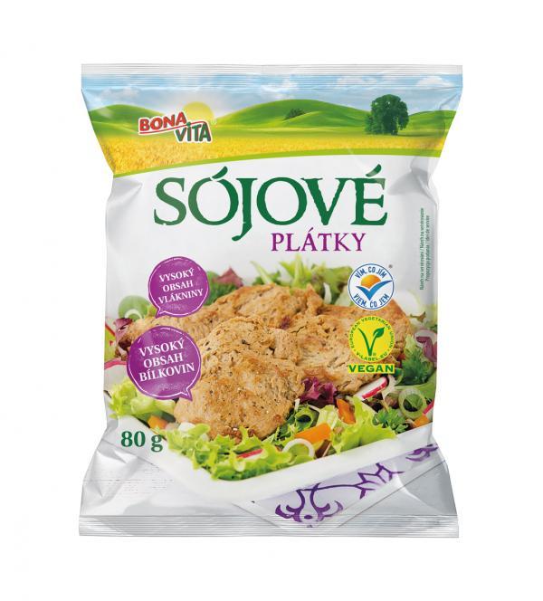 Sojové plátky 80 g