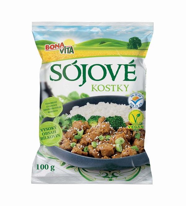 Sojové kostky 100 g