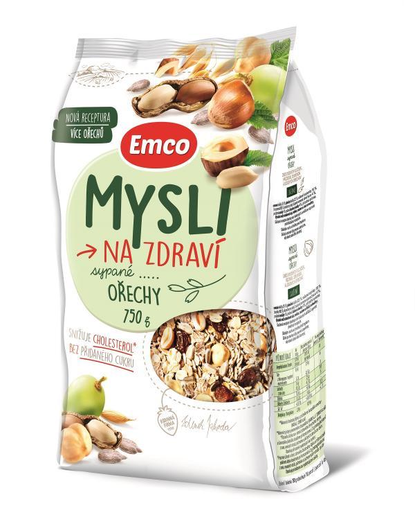 Mysli na zdraví Sypané ořechy 750 g