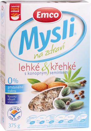 Mysli  na zdraví Lehké & křehké s konopným semínkem 375 g