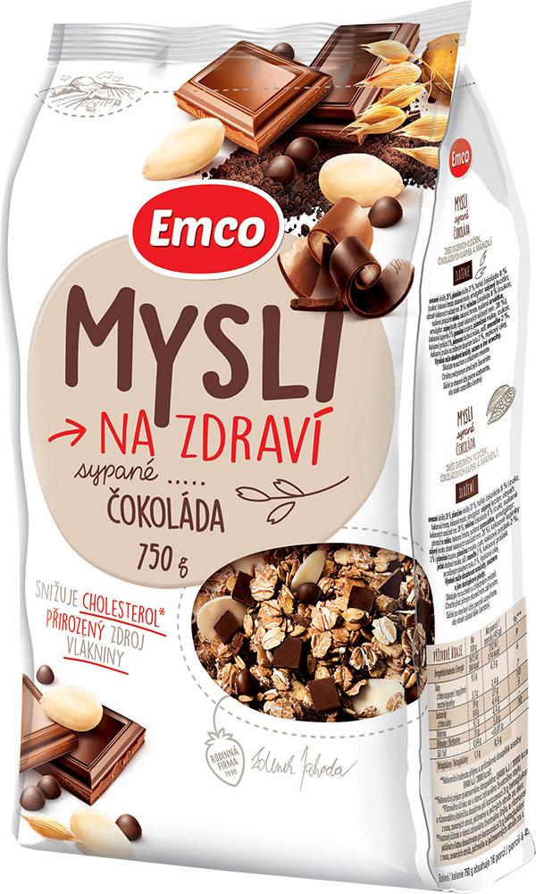 Mysli na zdraví Sypané čokoláda 750 g