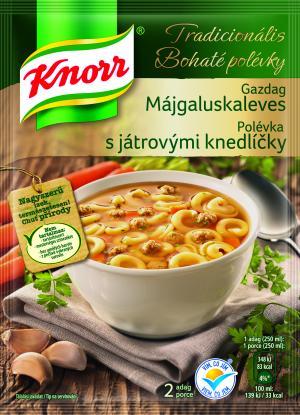 Knorr polévka Bohatá s játrovými knedlíčky 44 g