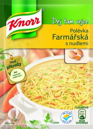 Knorr Farmářská polévka s nudlemi 93 g