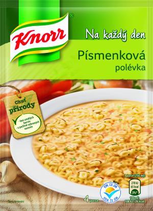 Knorr Polévka Na každý den Písmenková 75 g