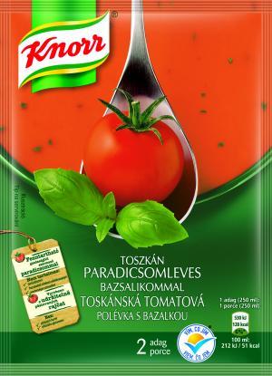 Knorr Toskánská Tomatová polévka s bazalkou 66g