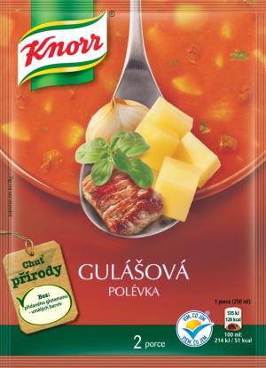 Knorr Gulášová krémová polévka 65 g