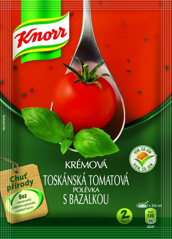 Knorr polévka