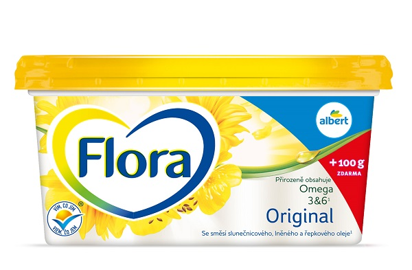 Flora Original 500 g (Ahold)