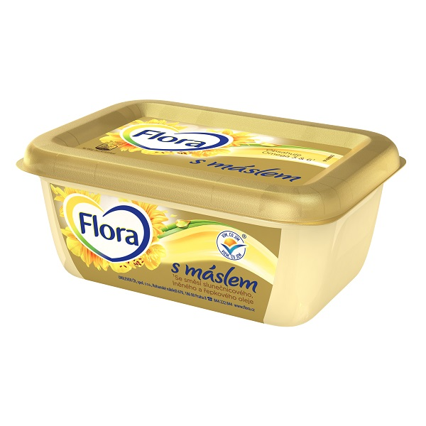 Flora s máslem 225 g