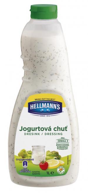 Hellman´s dresink Jogurtová chuť 1l