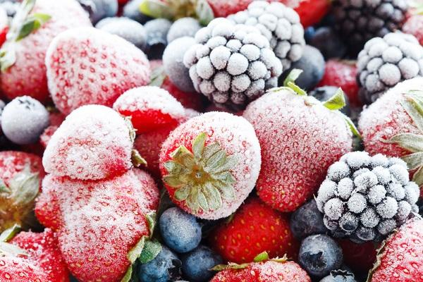 Mražené ovoce a zelenina na kvalitě neztrácejí
