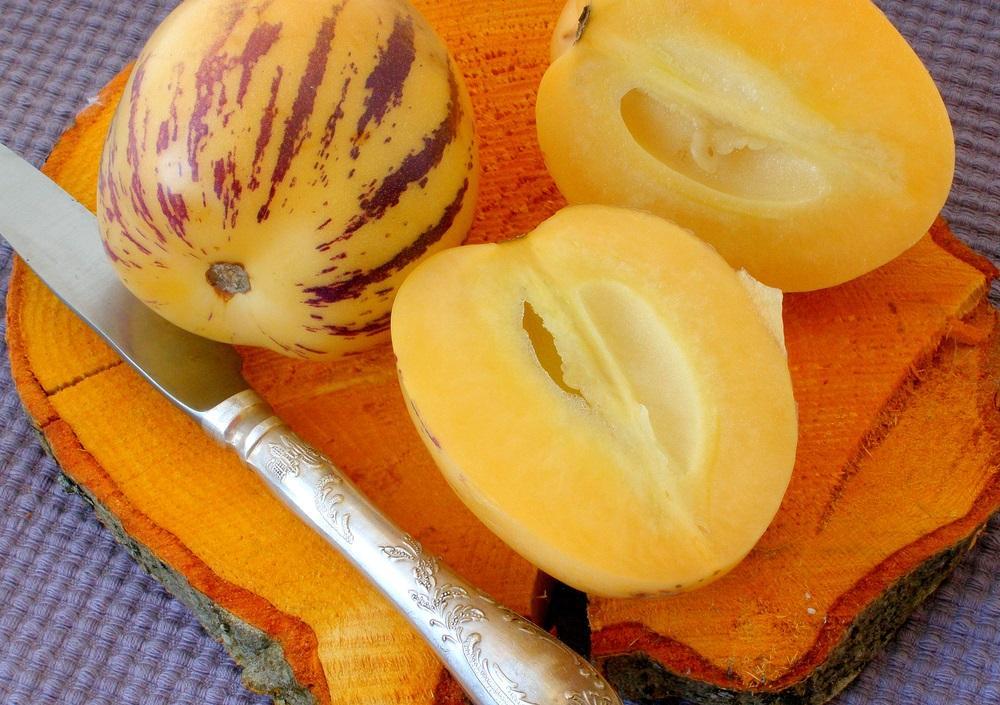 Pepino - chutné exotické melounky. Určitě vyzkoušejte