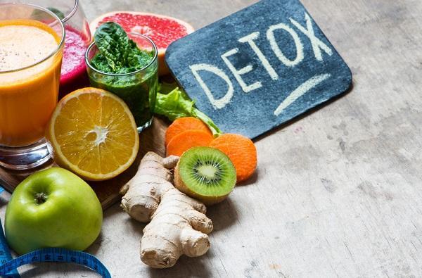 Detoxikační kůry