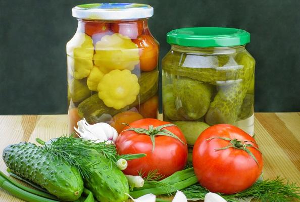 Zelenina kvašená pickles