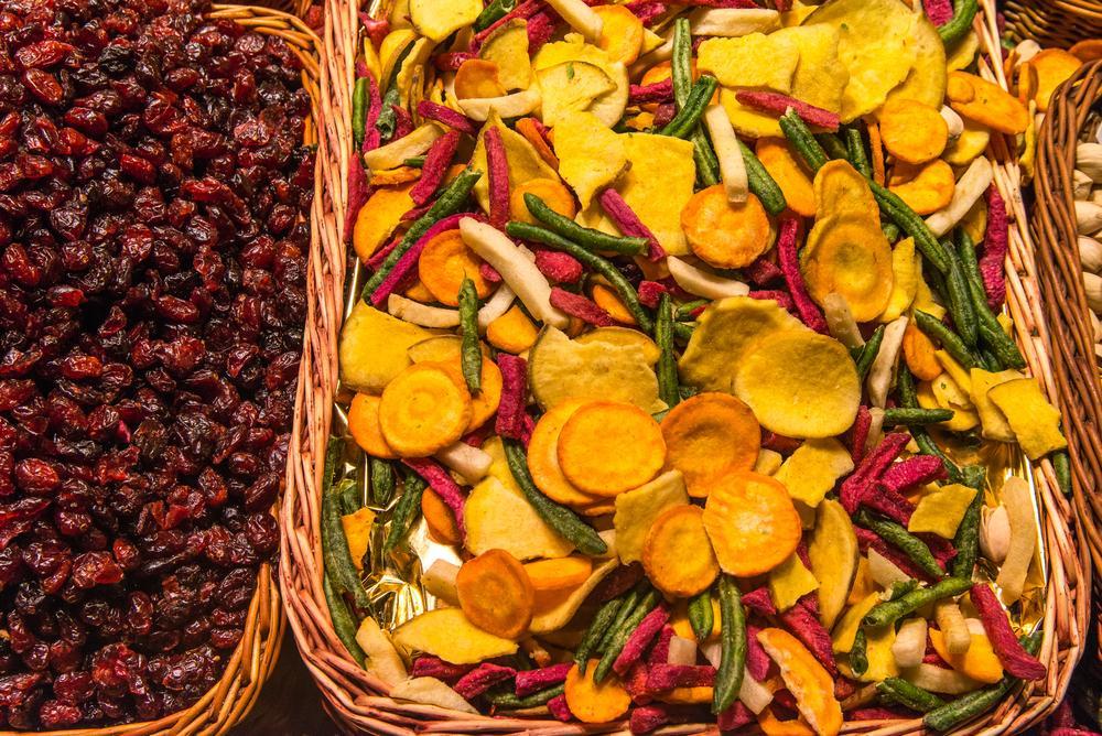 Zeleninové chipsy mohou být zdravou variantou mlsání