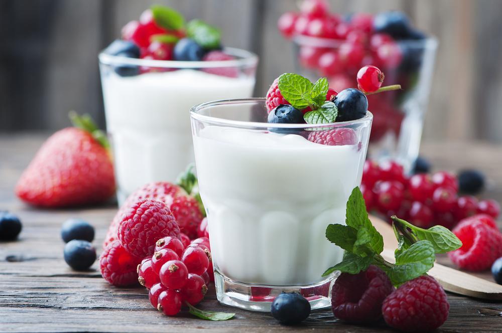 Jeden jogurt denně. Zdraví prospěšná probiotika