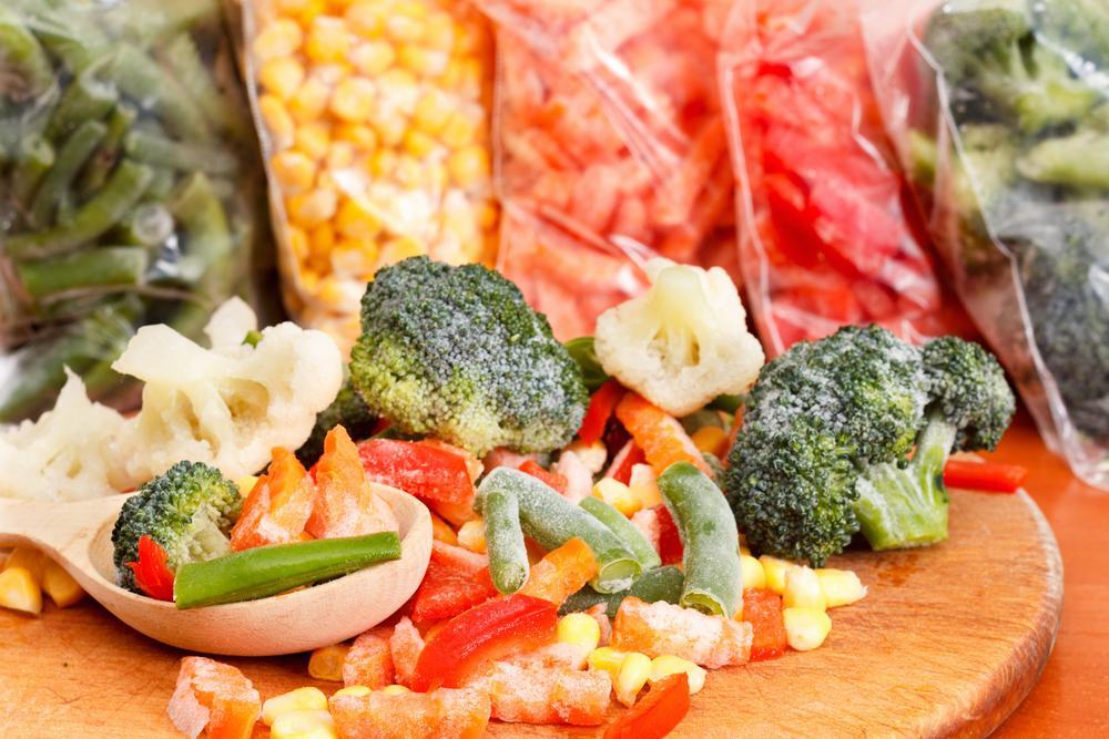 Zamrazená zelenina není podřadná