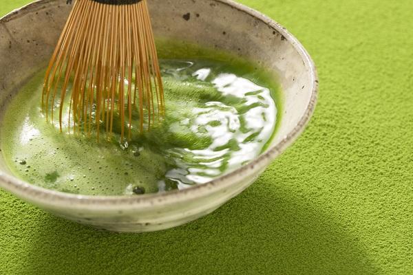 Zelený matcha čaj