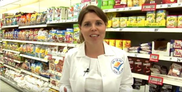 Asistované nákupy s nutriční terapeutkou