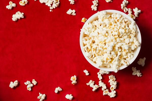 kukuřičný popcorn