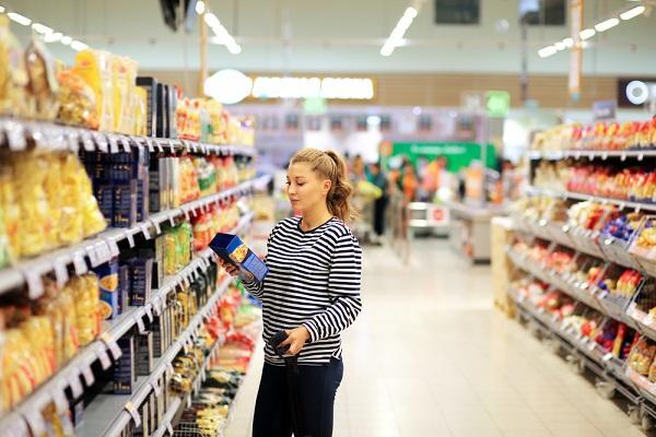 Čtení potravinových etiket