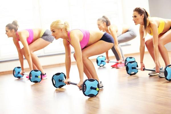 Body pump skupinové cvičení