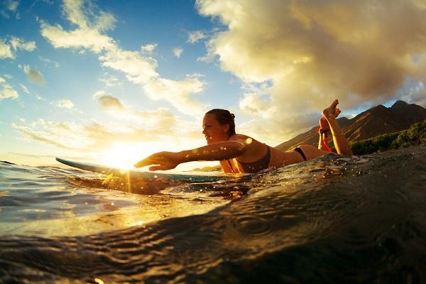 Sportování o dovolené, aktivní dovolená