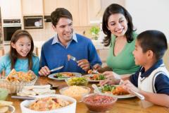 Večeře rodina