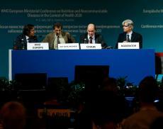 Zástupci programu Choices na WHO ministerské konferenci