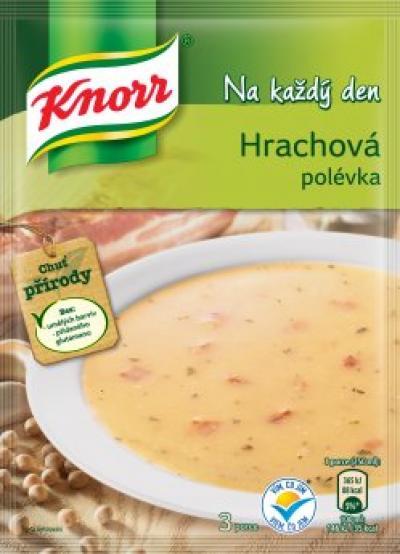 Knorr hrachová polévka