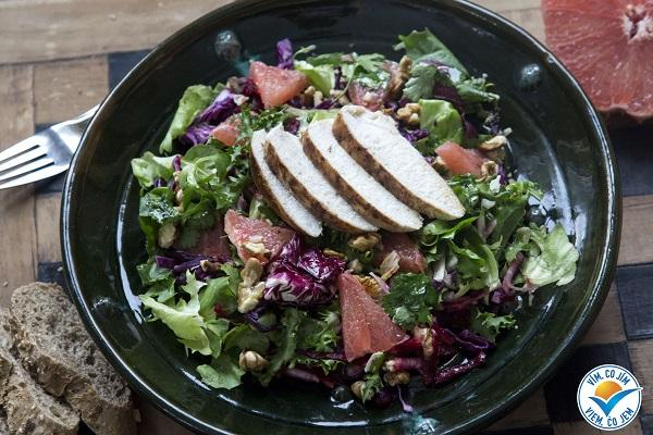 Recept: Vitamínový salát s grepem
