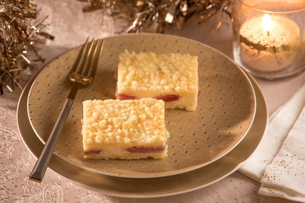 Recept: Tvarohový koláč s jahodami
