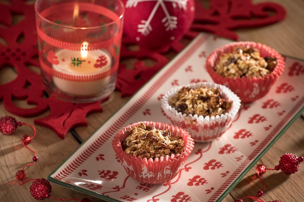 Recept: Dortíčky s ořechy a jablky