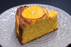 Recept: Mandarinkový koláč bez mouky