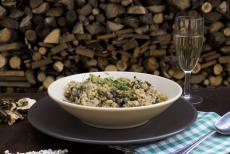 Recept: Slzavé houbové rizoto