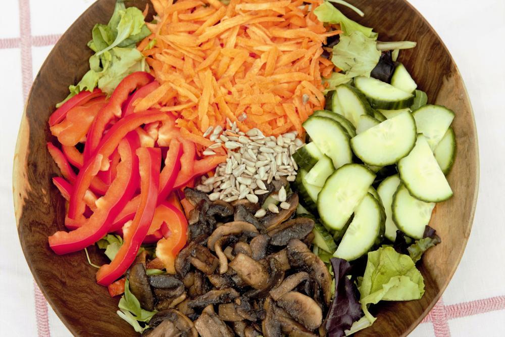 Recept: Houbový salát s ume octem