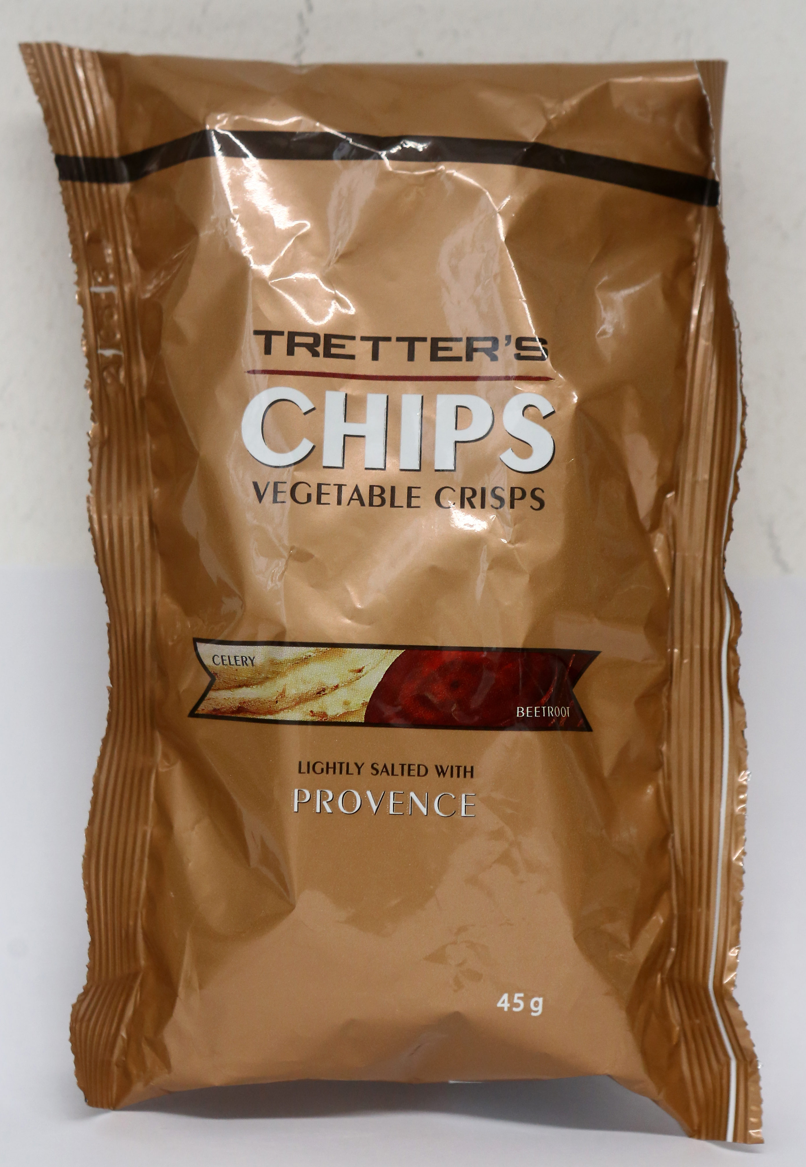 Tretters chips vegetable crisps