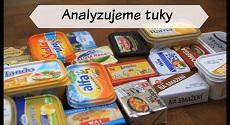 Zdravé tuky, výběr tuků, složení produktů, obsah tuku v produktech