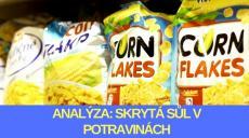 Analýza: Skrytá sůl v potravinách