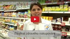 Poděkování partnerům Festivalu zdravého nakupování 2016