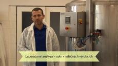Laboratorní analýza - cukr v mléčných výrobcích